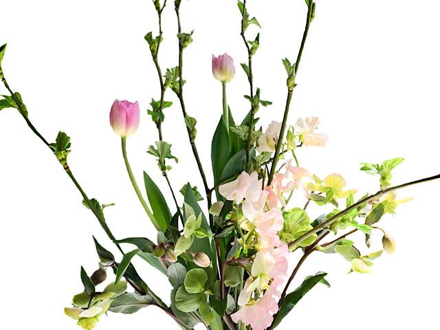 おしゃれ花屋Florist IGUSA(フローリストイグサ)で購入した花束を撮影した画像