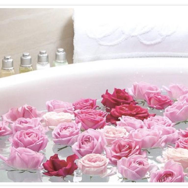 ケイコレクション公式HPのバラ風呂の写真