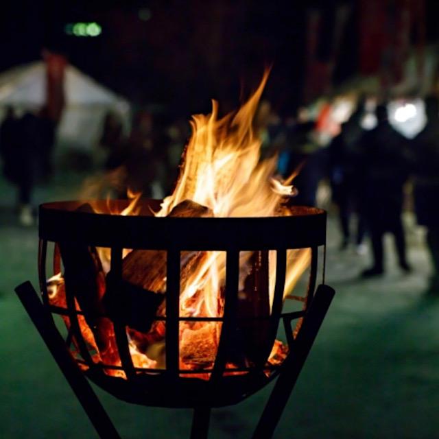 篝火の画像