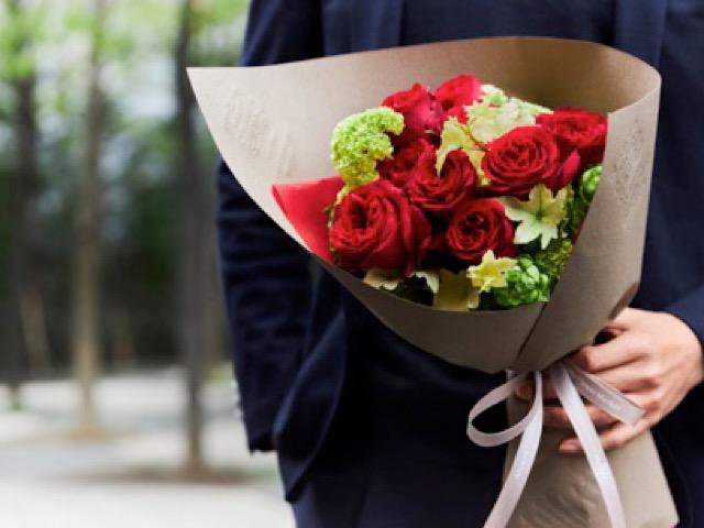 青山フラワーマーケットから引用した花束の画像