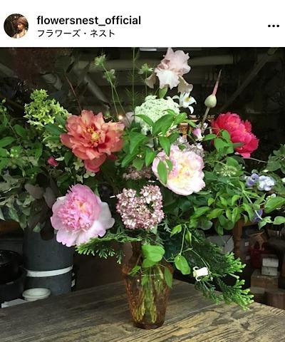 FLOWERS NEST(フラワーズ・ネスト)公式インスタグラムから引用した花の画像