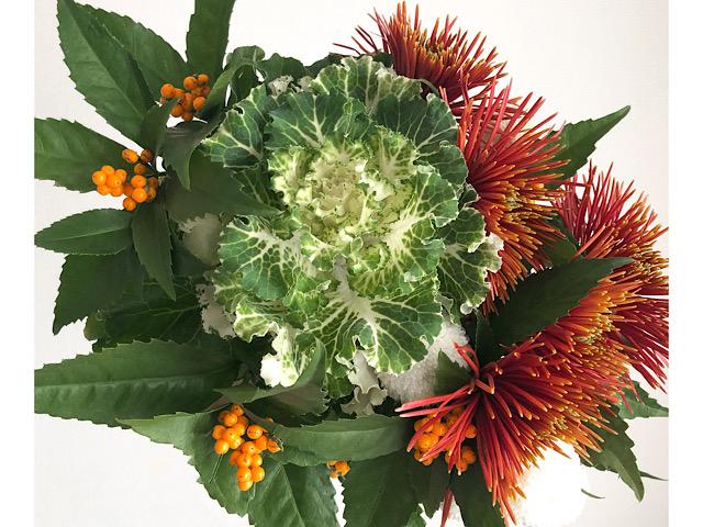 中目黒のおしゃれ花屋Matilda(マチルダ)で購入した花束を撮影した写真