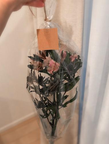 おしゃれ花屋cochon(コション)で購入した花を撮影した画像