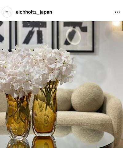 eichholtz_japanから引用した花の飾り方の画像