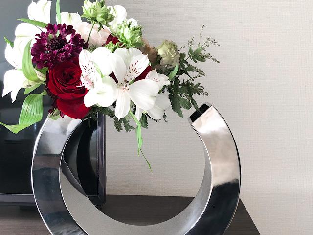 PHILIPPI(フィリッピ)の花瓶を使ったおすすめの飾り方の画像